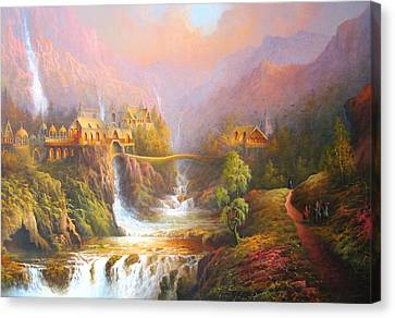 The Elves Kingdom Canvas Print