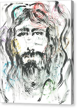 The Emotions Of Jesus Canvas Print by Nadine Rippelmeyer