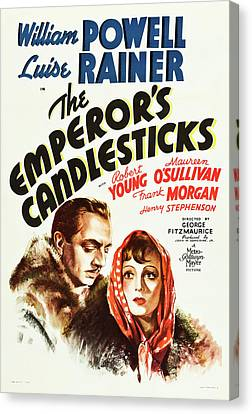The Emperor's Candlesticks 1937 Canvas Print by M G M