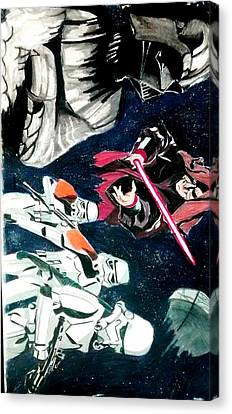 The Empire  Canvas Print by Juan Zuniga