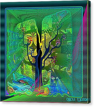 The Enchanted Forest Canvas Print by Carola Ann-Margret Forsberg