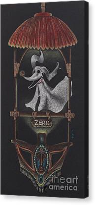 Tiki Canvas Print - The Enchanted Nightmare Room by Whitney Wilger