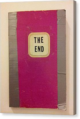 Ethical Values Canvas Print - The End Book by William Douglas