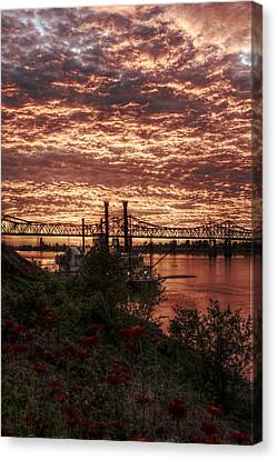 The End Of Canvas Print by Ron Burt