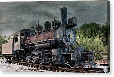 The End Of The Line. Canvas Print