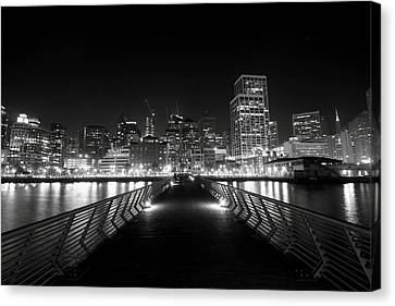 The Energy Canvas Print by Laurie Search