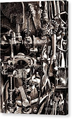 The Engineer World Canvas Print by Olivier Le Queinec
