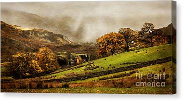 The English Lake District Canvas Print by Linsey Williams