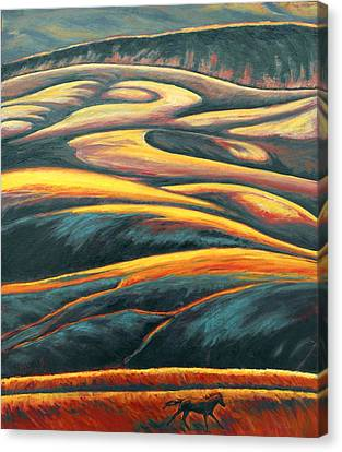 The Enigmatic Hills Canvas Print
