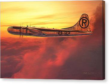 Enola Gay B-29 Superfortress Canvas Print by David Collins