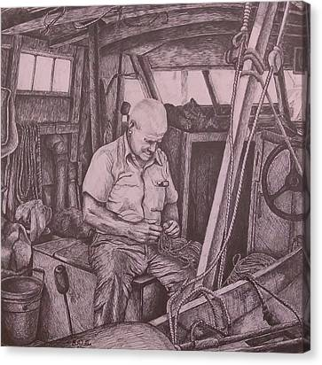 The Entanglement Canvas Print