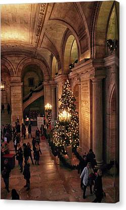 Canvas Print featuring the photograph A Golden Entrance by Jessica Jenney