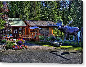 The Entree Gallery II Canvas Print by David Patterson