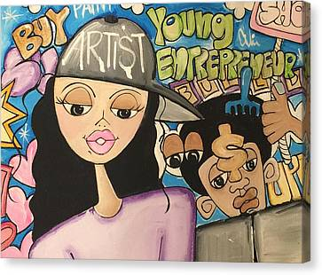 The  Entrepreneurs Mural Canvas Print