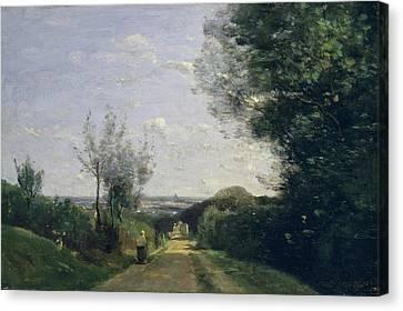 The Environs Of Paris Canvas Print