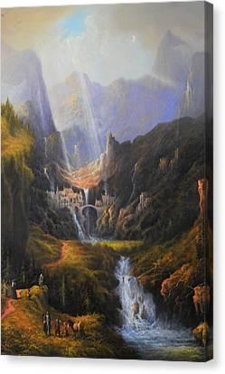 The Epic Journey Canvas Print