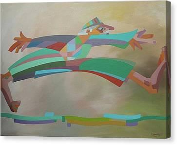The Escape Canvas Print by Kheir eddin Obeid