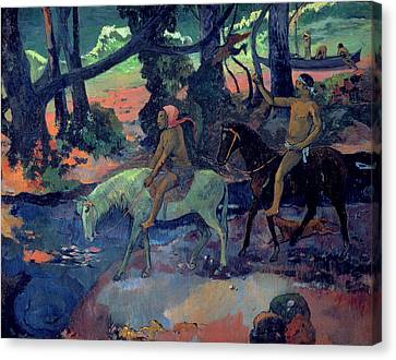 The Escape Canvas Print by Paul Gauguin