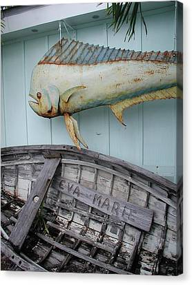 Canvas Print featuring the photograph The Eva Marie by Nancy Taylor