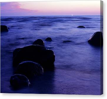 The Evening Canvas Print