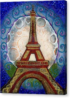 The Evening Of A Ready-wish Upon A Parisian High Point Canvas Print