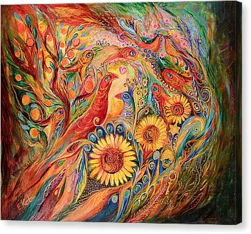 The Evidence Of Miracle Canvas Print by Elena Kotliarker