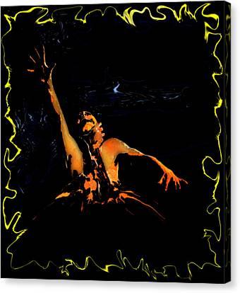 The Evil Dead Canvas Print by Jeff DOttavio