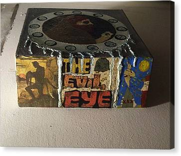 Lead The Life Canvas Print - The Evil Eye by William Douglas