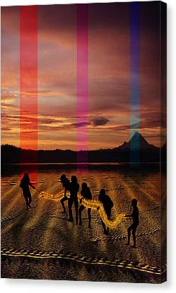 The Expulsion Canvas Print by Mark Myers