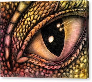The Eye Of The Dragon Canvas Print