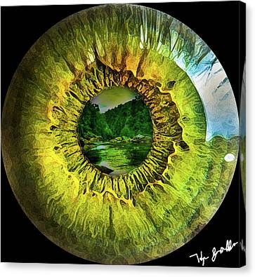 The Eye Canvas Print by Phillip Grobler