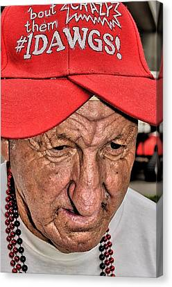 The Eyes Of Age Canvas Print by William Jones
