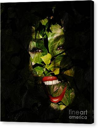 The Eyes Of Ivy Canvas Print by Clayton Bruster