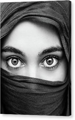 The Eyes Canvas Print