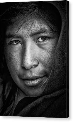 The Eyes Canvas Print by Stefan Nielsen