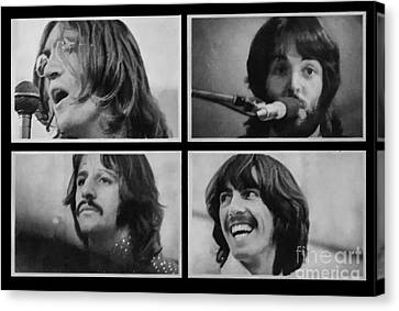 The Fab 4 Canvas Print