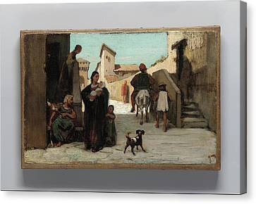 The Fable Of The Miller Canvas Print