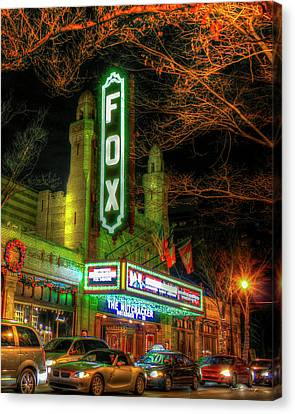The Fabulous Fox Theatre Atlanta Georgia Art Canvas Print by Reid Callaway