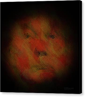 The Face Of Insanity Canvas Print