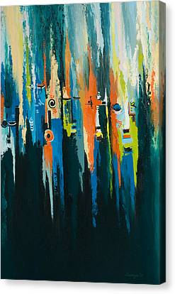 The Faces Canvas Print by Alfred Awonuga