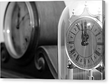 Canvas Print featuring the photograph The Faces Of Time by Wanda Brandon