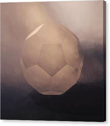 Celestial Canvas Print - The Facet by Lonnie Christopher