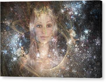 The Fairy Queen Canvas Print by Carol and Mike Werner
