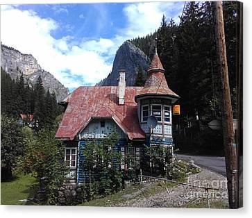The Fairy Tale House  Canvas Print