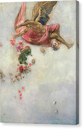 The Fall Of Icarus  Canvas Print by Odilon Redon