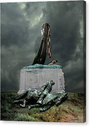 Slaves Canvas Print - The Fall Of Lee by IM Spadecaller