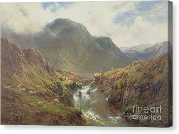 The Falls Of Foyers Canvas Print
