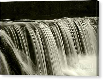 The Falls Canvas Print by Timothy Johnson