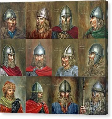 The Famous Vikings Canvas Print