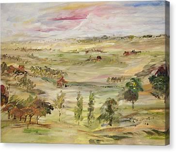 Seem Canvas Print - The Far Away Place by Edward Wolverton